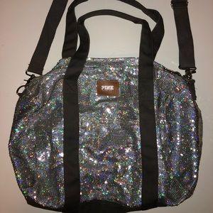 Victoria Secret Sequin Duffel Bag